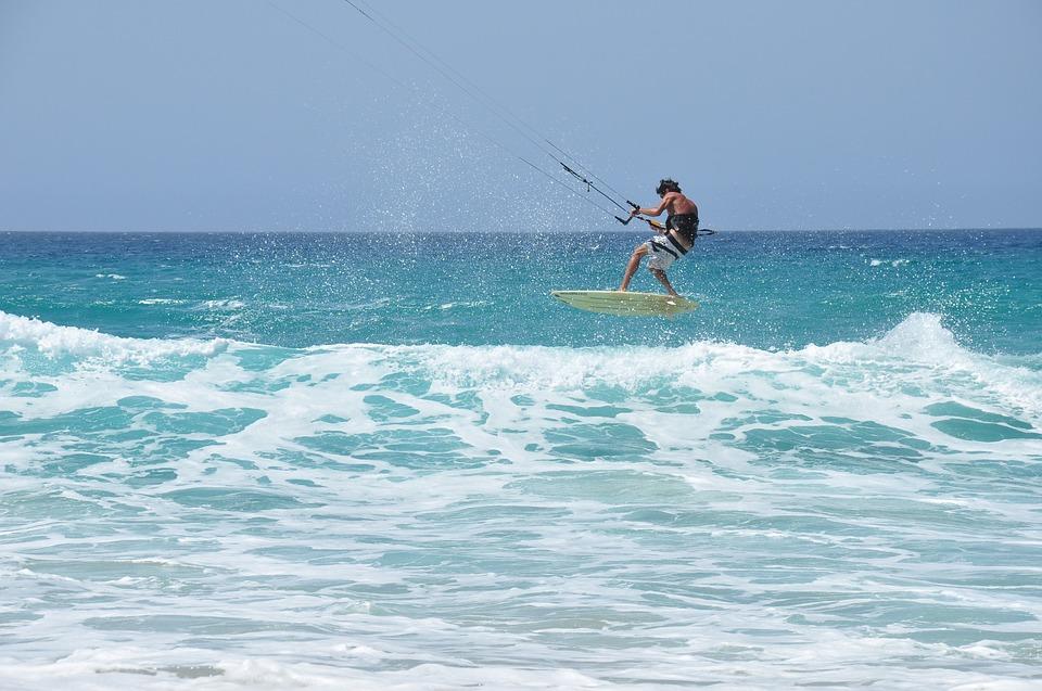 demo kitesurf Anse Trabaud